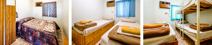 Budget rooms Oasis camping Coober Pedy